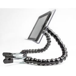 double bras flexible tablette fauteuil roulant