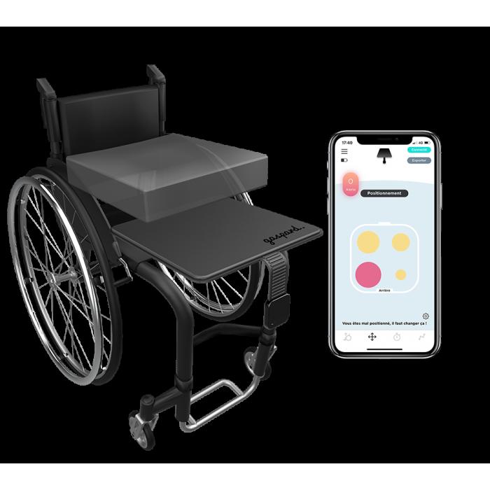 Gaspard le premier dispositif e-santé pour la prévention des escarres